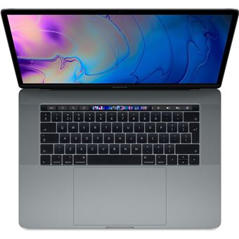 "Apple Macbook Pro 15"" I9 2,9 GHz/16 GB/256 GB/AMD Radeon Pro 555X 4 GB Space Grey Azerty"