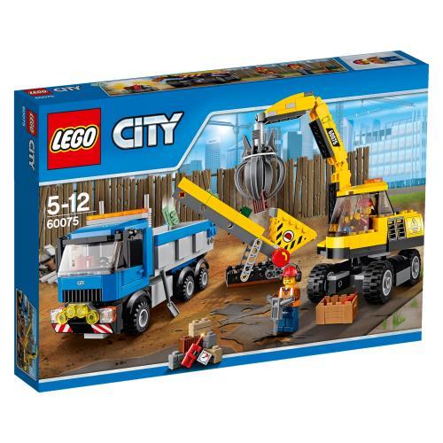 LEGO® City 60075 L'Excavatrice et Le Camion