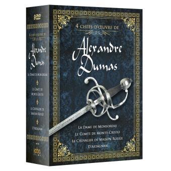 Coffret 4 chefs d'œuvre d'Alexandre Dumas DVD