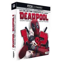 Deadpool 1 et 2 Coffret Blu-ray 4K Ultra HD