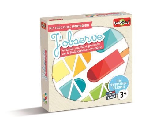 Jeu de découverte Mes associations Montessori : J'observe