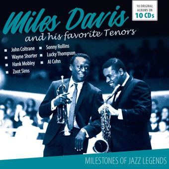 MILES DAVIS AND HIS FAVORITE TENORS/10CD
