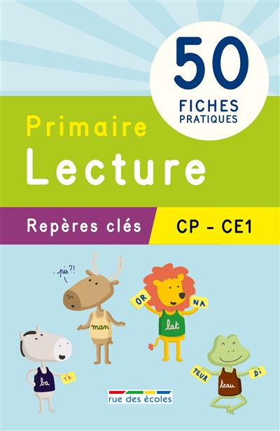 Reperes Cles Lecture Cp Ce1 Pdf Epub Telecharger Des