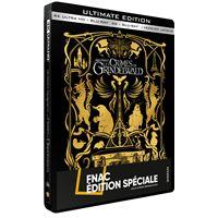 Les Animaux fantastiques 2 : Les Crimes de Grindelwald Steelbook Edition Spéciale Fnac Blu-ray 4K Ultra HD