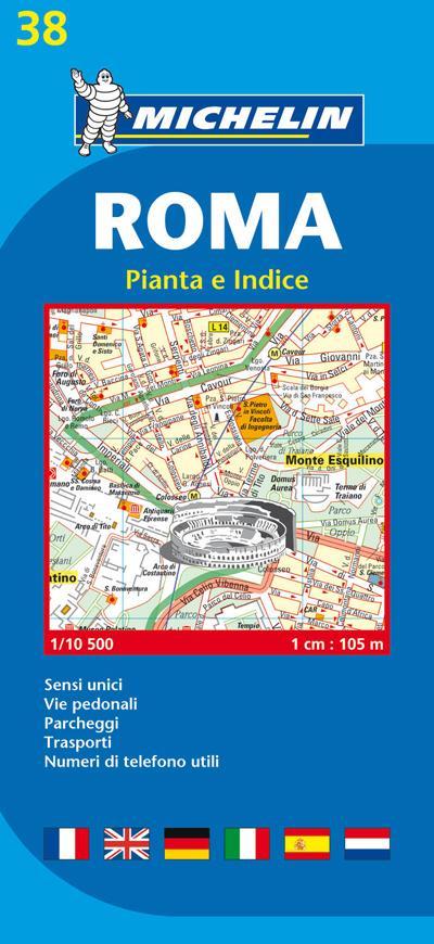 Plan Rome Michelin