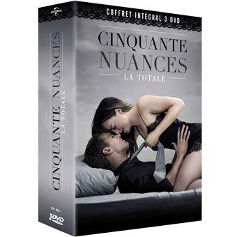 Fifty shadesCoffret Cinquante nuances L'intégrale DVD
