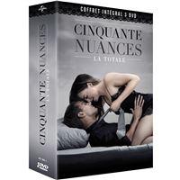Coffret Cinquante nuances L'intégrale DVD