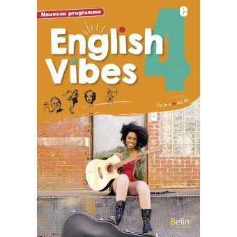 English Vibes Manuel D Anglais Lv1 4e Livre De L Eleve