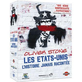 Coffret Stone Les États-Unis : L'histoire jamais racontée Exclusivité Fnac DVD
