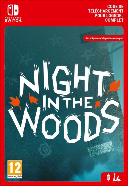 Code de téléchargement Night in the Woods Nintendo Switch