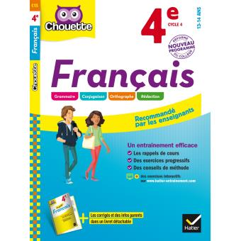 Francais 4eme Cycle 4 Workbook