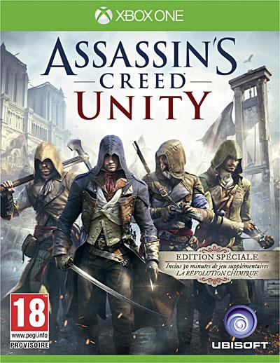 Assassin's Creed Unity Edition Spéciale Xbox One - Xbox One