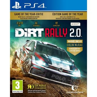 DIRT RALLY 2.0 - GAME OF THE YEAR EDITION FR/NL PS4
