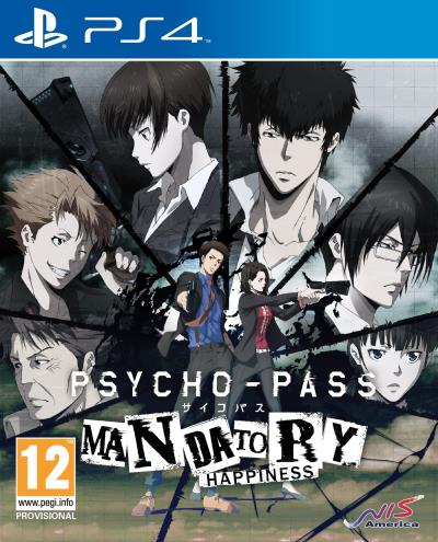 Psycho-Pass : Mandatory Happiness Edition limitée PS4