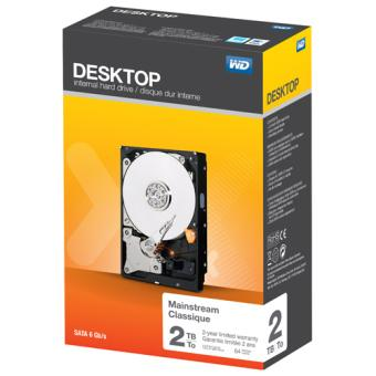 Disque Dur WD Desktop, 2 To