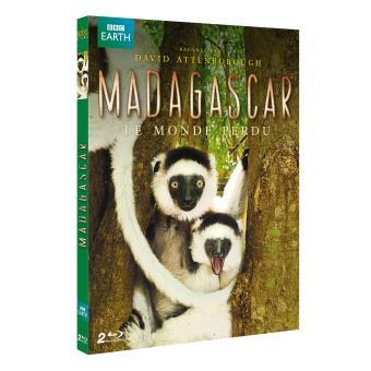 Madagascar, le monde perdu Blu-ray