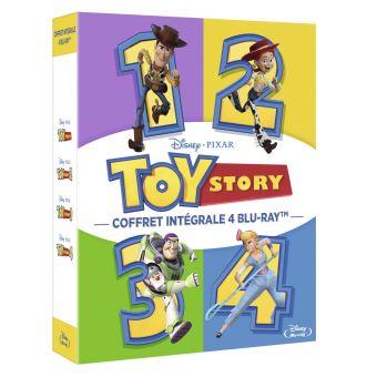 Toy StoryCoffret Toy Story L'intégrale Blu-ray