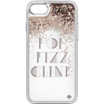 coque incipio kate spade new york pop fizz clink pour iphone 7 rose dor et transparent etui. Black Bedroom Furniture Sets. Home Design Ideas