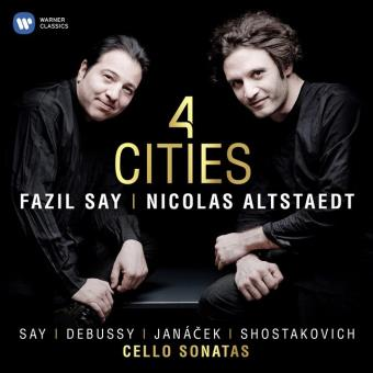 Say : 4 Cities Cello Sonatas
