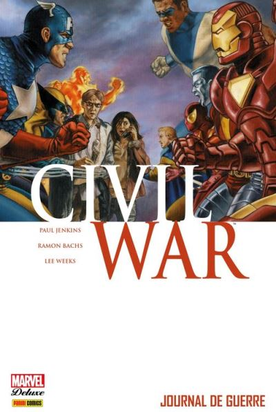 Civil War T04 - Journal de guerre - 9782809461527 - 19,99 €