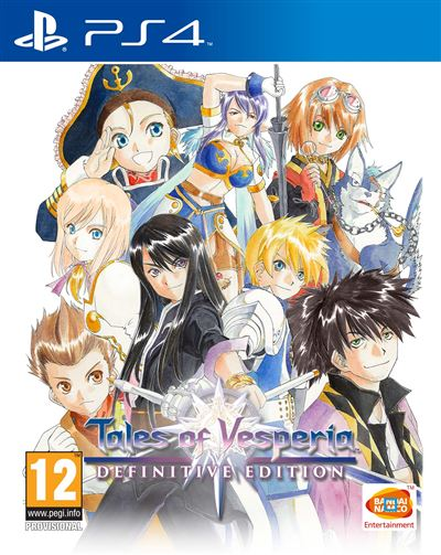 Tales of Vesperia Edition Définitive PS4