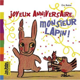Joyeux anniversaire, Monsieur Lapin !