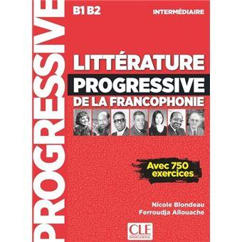 Litterature Progressive Fle De La Francophonie Niveau Intermediaire Nouvelle Couverture