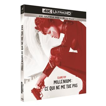 MilléniumMillénium : Ce qui ne me tue pas Blu-ray 4K Ultra HD