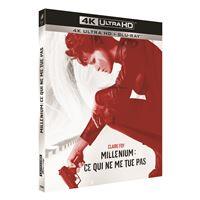 Millénium : Ce qui ne me tue pas Blu-ray 4K Ultra HD