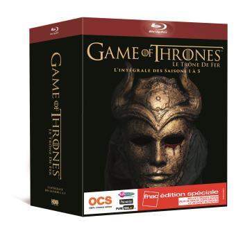 Le trône de ferGame of Thrones Saisons 1 à 5 Edition spéciale Fnac Blu-ray