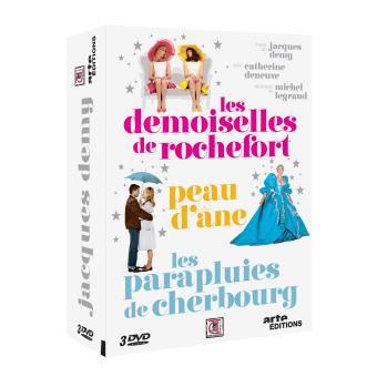 Les parapluies de Cherbourg - Peau d'âne - Les demoiselles de Rochefort - Coffret