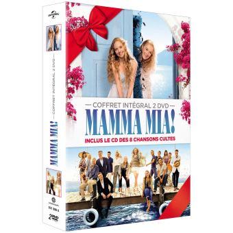 Mamma Mia !Coffret Mamma Mia ! L'intégrale Edition Limitée DVD