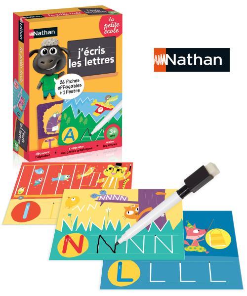 Jeu découverte J'écris les lettres Nathan