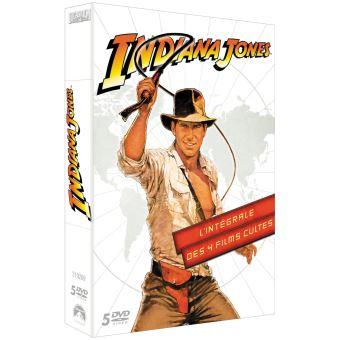 Indiana JonesCoffret Indiana Jones L'intégrale DVD