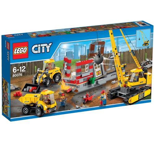 LEGO® City 60076 Le Chantier De Démolition