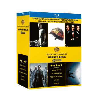 allocine coffret 5bluray fr blu ray stanley kubrick alfonso cuar n clint eastwood. Black Bedroom Furniture Sets. Home Design Ideas