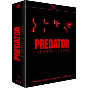 PredatorCoffret Predator 4 Films Blu-ray