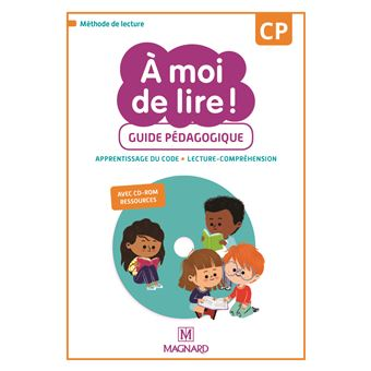 A Moi De Lire Cp 2019 Guide Pedagogique Avec Cd Rom Ressources