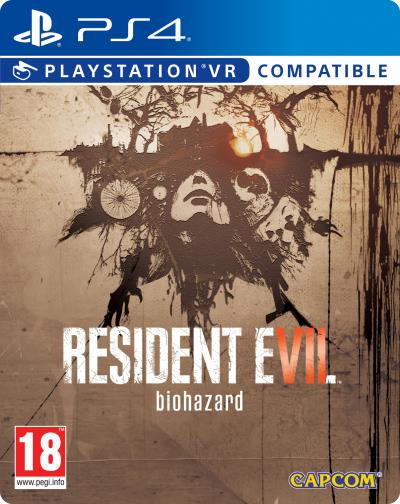 Resident Evil 7 Biohazard Edition Steelbook PS4