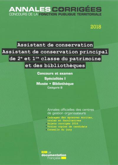 2501ff2ef83 Assistant de conservation