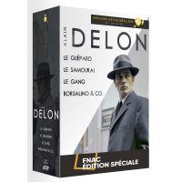 Coffret Alain Delon 4 Films Edition Spéciale Fnac DVD