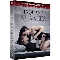 Coffret Cinquante nuances L'intégrale Blu-ray