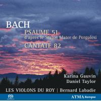 BACH/PSAUME 51+ICH HABE GENUG SA-CD