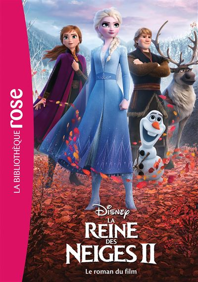 La Reine des Neiges 2 NED- Le roman du film