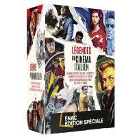 Coffret Les légendes du cinéma italien 7 Films Edition Spéciale Fnac DVD