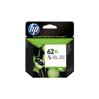 Cartouche d'encre 3 couleurs HP 62 XL