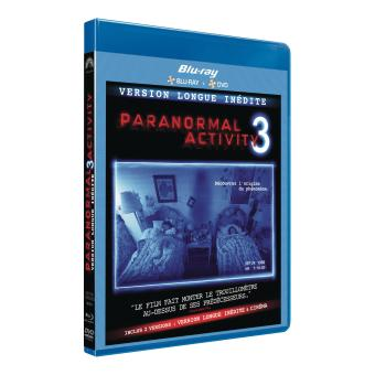 Paranormal activityParanormal Activity 3 - Blu-Ray