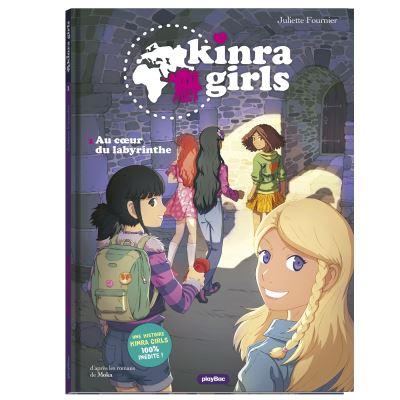 Kinra girls - bd - au coeur du labyrinthe