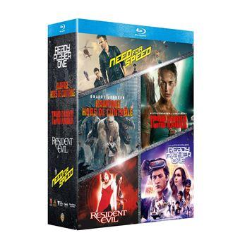 Coffret Films issus de Jeux vidéo Blu-ray