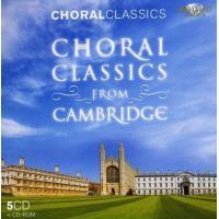 Choral classics from Cambridge - Coffret